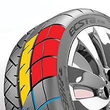 265//35R18 97W Kumho Ecsta V720 Summer Performance Tire