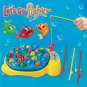 Goliath- Lets Go Fishing Original. Juego de Pesca para niños ...