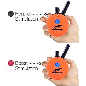 Regular or Boost Stimulation
