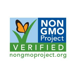 non gmo project verified.