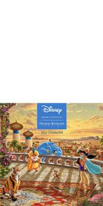 Disney Dreams Collection by Thomas Kinkade Studios: 2022 Wall Calendar