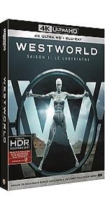 Westworld;robots;sci-fi;HBO;4K;bonus;exclusif;robots;attaque;conscience;parc;attraction;western