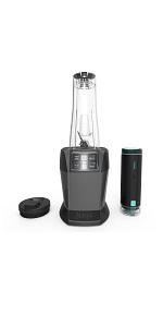 Ninja, Nutri Ninja, FreshVac, vacuum, blender, for shakes and smoothies, ninja blender