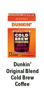Dunkin' Cold Brew