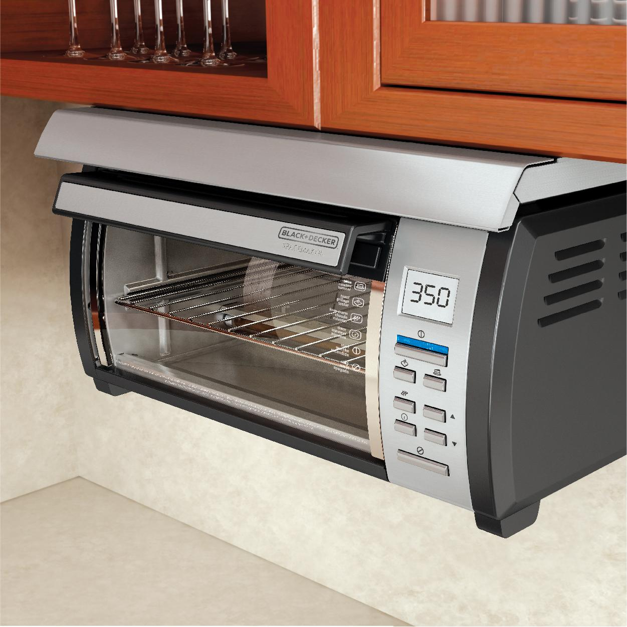 ... Space Maker Under Counter Toaster Oven, Black/Stainless eBay