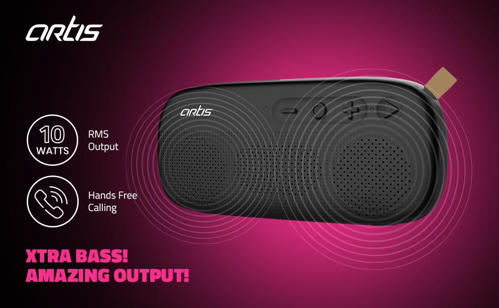 Artis BT72 Wireless Bluetooth Speaker