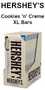 hershey cookies creme chocolate bars
