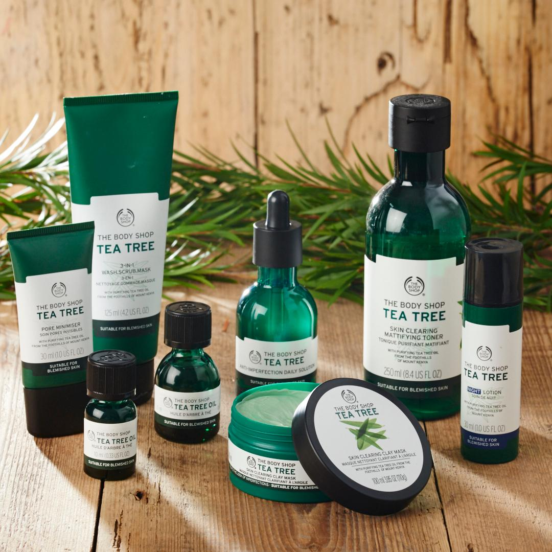 Tea Tree 1 2 3 Kit By The Body Shop