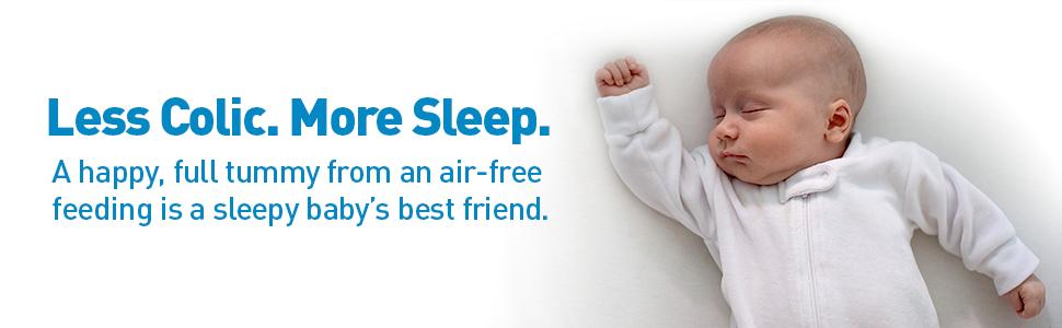 baby bottles, anti-colic bottles, baby bottle, baby sleep, reduce colic, breastmilk bottle
