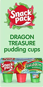 Snack Pack Dragon Treasure Pudding Cups – Fun Treats for Kids