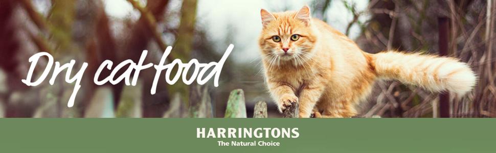 dry cat food harringtons