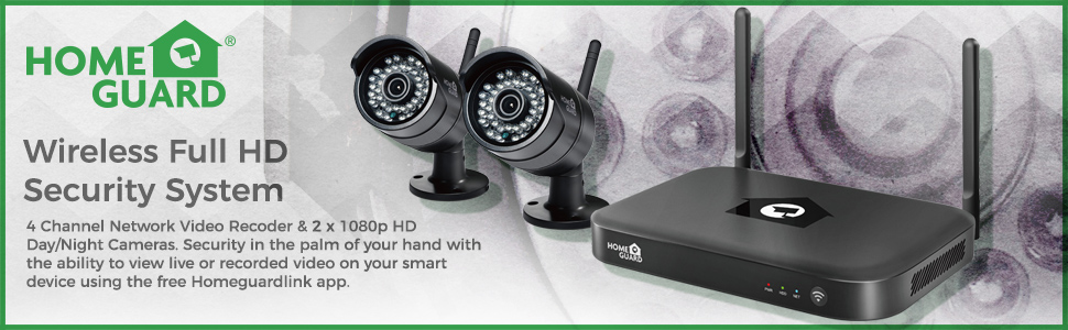 Wireless Full HD Security System