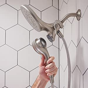 magnetic shower handle
