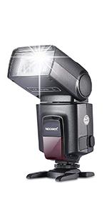 III//II A7III Neewer NW635 TTL GN58 Flash Kit Compatible con C/ámaras de Zapata Sony MI A9II A9 A7RIV II A7SII A6600 A6500 A6400 A6300 A6000 A99II A77II RX10II III//IV Difusor Bater/ía Incluida