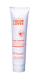 Framesi Color Lover Curl Pudding, Defines & separates curl, adds moisture, conditions curls