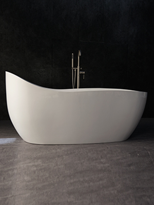 Woodbridge Deluxe Free Standing Bathtub, B-0033 Air Bubble