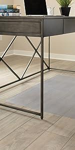Hard floor hardwood laminate concrete protection chair mat desk home office