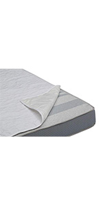 serta crib mattress liner pads pack of 2 set