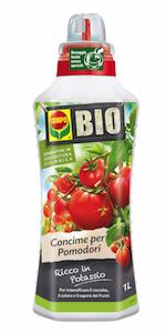Concime biologico liquido pomodori