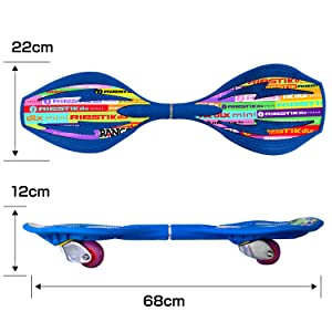 キャスターボード ブレイブボード Jボード リップスティックデラックスミニ