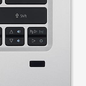 Acer Swift 1 Ultrabook Fingerprint Reader