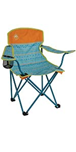 Amazon Com Coleman Portable Deck Chair With Side Table