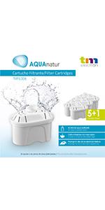 TM Electron Pack de 6 à 12 mois de filtres à eau