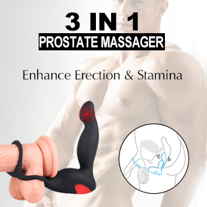 Prostate Rechargeable Waterproof Vibrating Stimulator Anal Toys