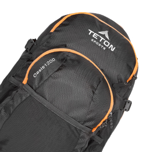 TETON Sports Oasis 1200 Hydration Backpack with 3 Liter Bladder Included