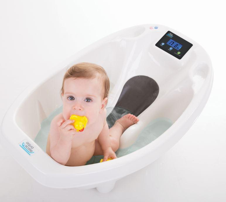 aquascale digital baby bath baby. Black Bedroom Furniture Sets. Home Design Ideas