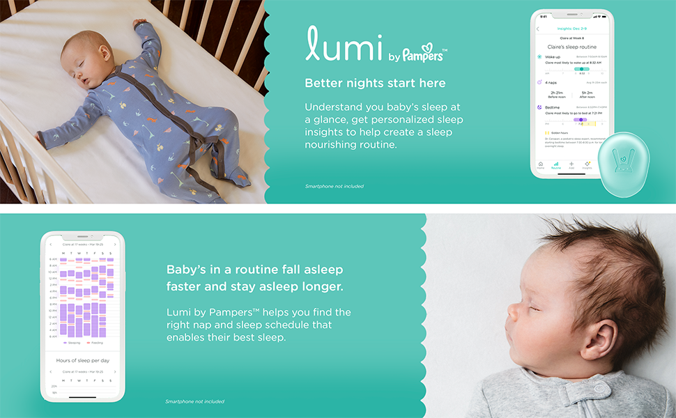 Lumi Monitor, Lumi Sensor, Lumi Diapers, Lumi by Pampers, Baby Sensor, Baby Smart Sensor