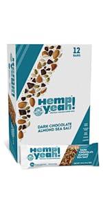 manitoba harvest hemp yeah bars grain free gluten vegan kosher plant based protein omega organic