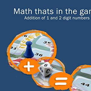 addition of 1 and 2 digit numbers
