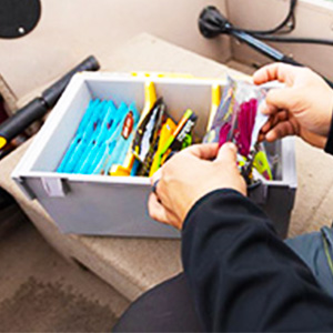 Plano Edge Soft Plastic and Utility storage box, Edge bulk storage box, bulk tackle storage box