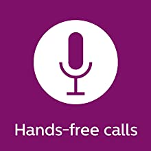 Philips UpBeat SHB3959WT hands-free calling