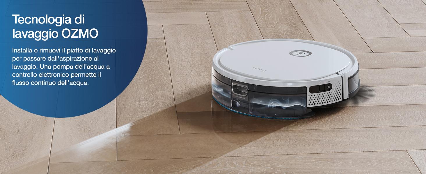 Tecnologia di lavaggio OZMO