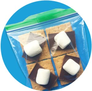 Ziploc-IT'S A S'MORE SAFE