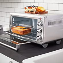 counter top oven baking