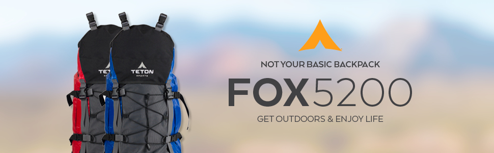 Carrying the load is so much easier with the Fox5200 by TETON Sports. It's not your basic backpack.