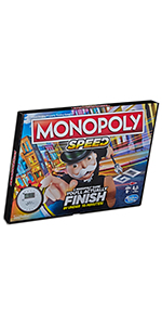 monopoly, speed, monopoly speed, monopoly board game, board game