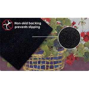 Non-skid;non-slip;non skid;non slip;rubber;backing