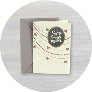 cardstock; kraft; matte finish; thick; mailable; high end; expensive; texture; glitter; ribbon