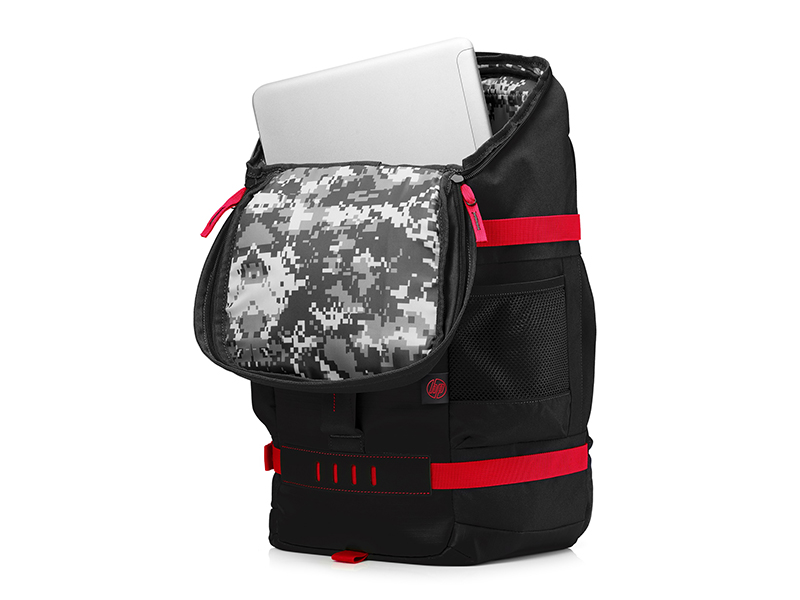 536ba5397d065 HP Odyssey Sport Rucksack schwarz   rot  Amazon.de  Computer   Zubehör