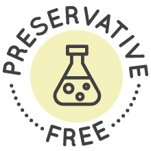 Preservative free eye