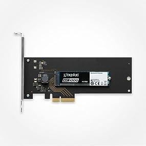 Kingston KC1000 - SSD NVMe PCIe de 240 GB, Gen2 x4 (M.2 2280 ...