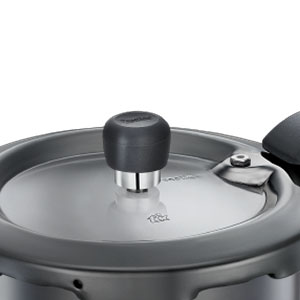Prestige Svachh 3 Litre Pressure Cooker with Hard Anodized Body (Black) SPN-FOR1