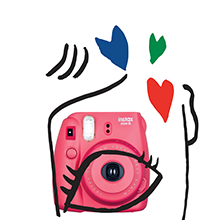 instax mini 8 rouge