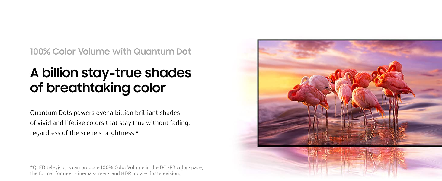100% Color Volume with Quantum Dot