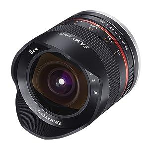 Samyang 8 2 8 Objektiv Fisheye Ii Aps C Fuji X Kamera