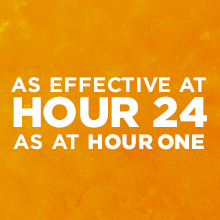 Powerful relief for a full 24 hours? That's powerful, effective, allergy-symptom-fighting relief.